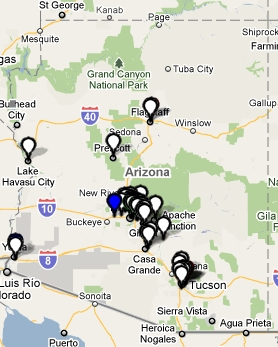 Arizona Civic Leadership Map