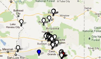 Arizona Civic Leadership Map - CommunityWalk