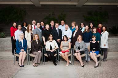 Civic Leadership Academy members